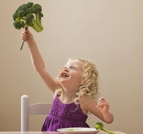 Broccoli for your baby