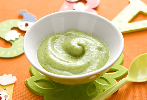 broccoli for your baby puree